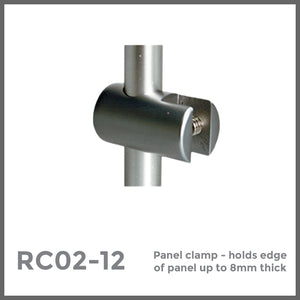 panel clamp hold up to 8mm panels