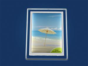 A4 Counter top LED display panel frame