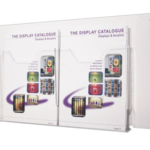 Wall Mounted Brochure and Leaflet Holders