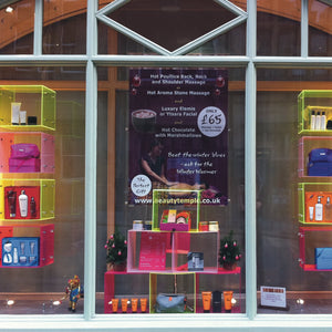 Point of sale display cubes