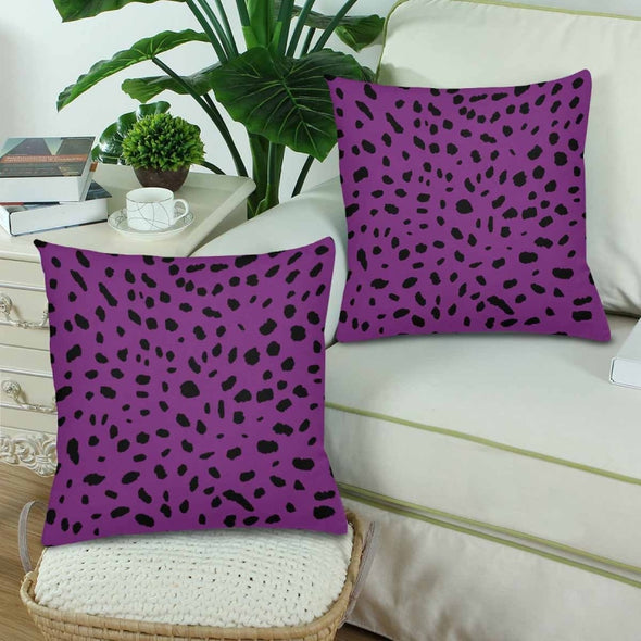 18 x 18 Throw Pillows (2) - Custom Cheetah Pattern - Housewares cheetahs housewares pillows