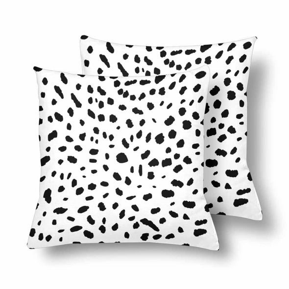 18 x 18 Throw Pillows (2) - Custom Cheetah Pattern - White Cheetah - Housewares cheetahs housewares pillows