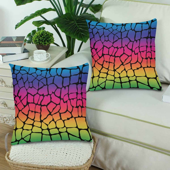 18 x 18 Throw Pillows (2) - Custom Giraffe Pattern - Housewares giraffes hot new items housewares pillows