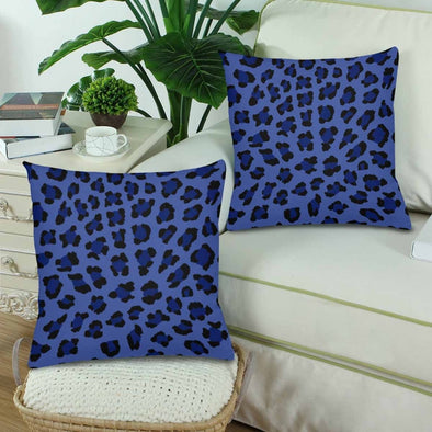 18 x 18 Throw Pillows (2) - Custom Leopard Pattern - Housewares big cats housewares leopards pillows