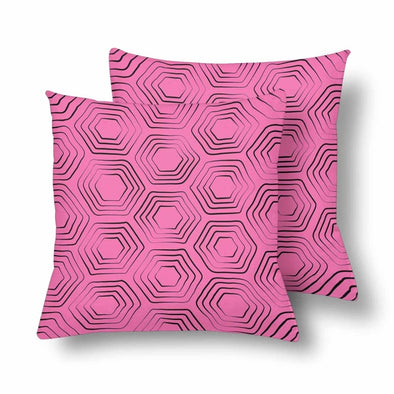 18 x 18 Throw Pillows (2) - Custom Turtle Pattern - Hot Pink Turtle - Housewares housewares pillows turtles