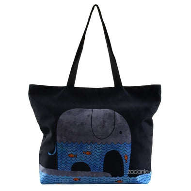 Bohemian Elephant Pattern Yoga/Beach Tote Bag - Beachware bags beachware bohemian elephants yoga gear