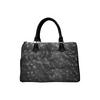 Boston Handbag Purse - Custom Animal Fur Prints - Charcoal - Accessories big cats hot new items