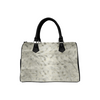 Boston Handbag Purse - Custom Animal Fur Prints - Gray - Accessories big cats hot new items