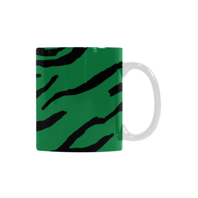 Ceramic Coffee Mugs (Pair) - Custom Tiger Pattern - Housewares big cats housewares tigers