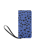 Clutch Purse - Custom Cheetah Pattern - Blue Cheetah - Accessories big cats cheetahs purses