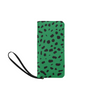 Clutch Purse - Custom Cheetah Pattern - Green Cheetah - Accessories big cats cheetahs purses