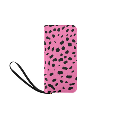 Clutch Purse - Custom Cheetah Pattern - Hot Pink Cheetah - Accessories big cats cheetahs purses