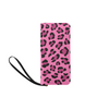 Clutch Purse - Custom Leopard Pattern - 2 - Hot Pink Leopard - Accessories big cats leopards purses