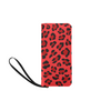 Clutch Purse - Custom Leopard Pattern - 2 - Red Leopard - Accessories big cats leopards purses
