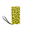 Clutch Purse - Custom Leopard Pattern - 2 - Yellow Leopard - Accessories big cats leopards purses