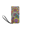 Clutch Purse - Custom Mandala Pattern - 2 - Raidbow Mandala - Accessories mandalas purses