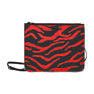 Custom Slim Clutch Bag - Design Your Own - Accessories bags big cats cheetahs crocodiles design your own