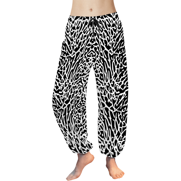 Custom Womens Harem Pants - Design Your Own - Clothing big cats cheetahs crocodiles design your own elephants