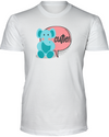 Elephant Cutie T-Shirt - Design 2 - White / S - Clothing elephants womens t-shirts