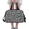 Fitness and Travel Bag - Custom Cheetah Pattern - Gray Cheetah - Accessories bags cheetahs