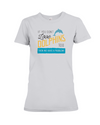 If You Dont Love Dolphins Too Then We Have A Problem! Statement T-Shirt - Athletic Heather / S - Clothing dolphins womens t-shirts