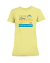If You Dont Love Dolphins Too Then We Have A Problem! Statement T-Shirt - Yellow / S - Clothing dolphins womens t-shirts
