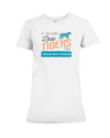 If You Dont Love Tigers Too Then We Have A Problem! Statement T-Shirt - White / S - Clothing tigers womens t-shirts