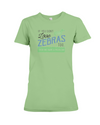 If You Dont Love Zebras Too Then We Have A Problem! Statement T-Shirt - Heather Green / S - Clothing womens t-shirts zebras
