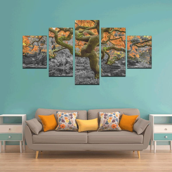 Old Wise Tree in the Forest - Canvas Wall Art - Wall Art canvas prints trees