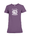Poach Eggs Not Rhinos Statement T-Shirt - Design 2 - Team Purple / S - Clothing rhinos womens t-shirts