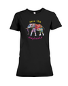 Save the Elephants Statement T-Shirt - Design 1 - Black / S - Clothing elephants womens t-shirts