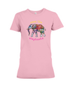 Save the Elephants Statement T-Shirt - Design 1 - Pink / S - Clothing elephants womens t-shirts