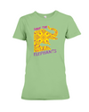 Save the Elephants Statement T-Shirt - Design 3 - Heather Green / S - Clothing elephants womens t-shirts