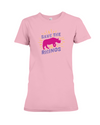 Save The Rhinos T-Shirt - Design 20 - Pink / S - Clothing rhinos womens t-shirts