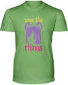Save The Rhinos T-Shirt - Design 3 - Heather Green / S - Clothing rhinos womens t-shirts