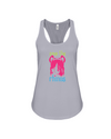 Save The Rhinos Tank-Top - Design 6 - Athletic Heather / S - Clothing rhinos womens t-shirts