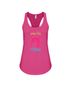Save The Rhinos Tank-Top - Design 6 - Berry / S - Clothing rhinos womens t-shirts