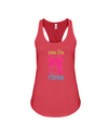 Save The Rhinos Tank-Top - Design 6 - Red / S - Clothing rhinos womens t-shirts