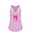 Save The Rhinos Tank-Top - Design 6 - Soft Pink / S - Clothing rhinos womens t-shirts