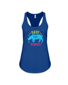 Save The Rhinos Tank-Top - Design 9 - Navy / S - Clothing rhinos womens t-shirts