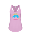 Save The Rhinos Tank-Top - Design 9 - Soft Pink / S - Clothing rhinos womens t-shirts