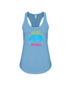 Save The Rhinos Tank-Top - Design 9 - Turquoise / S - Clothing rhinos womens t-shirts