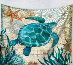Sea Turtle Wall Tapestry - Wall Art tapestries turtles