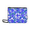 Slim Clutch Bag - New Leopard Pattern - Blue-Green-White Leopard - Accessories big cats hot new items leopards purses