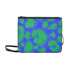 Slim Clutch Bag - New Leopard Pattern - Green-Blue Leopard - Accessories big cats hot new items leopards purses