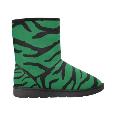 Snow Boots - Custom Tiger Pattern - Footwear Big Cats Boots Snow Boots Tigers