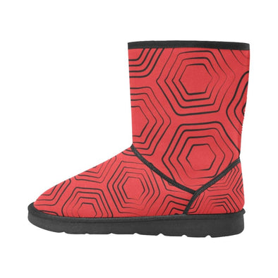 Snow Boots - Custom Turtle Pattern - Footwear Boots Snow Boots Turtles