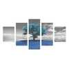 Tree on the Hill - Canvas Wall Art - Tree Blue - Wall Art canvas prints trees