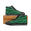 Womens Chucks High Top Sneakers - Custom Tiger Pattern - Green Tiger / US6 - Footwear big cats chucks sneakers sneakers tigers