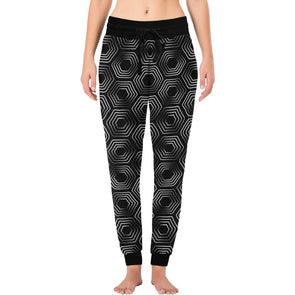 Womens Long John Pajamas - New Black & White Animal Patterns - Turtle / XS - Clothing hot new items leggings yoga gear yoga pants